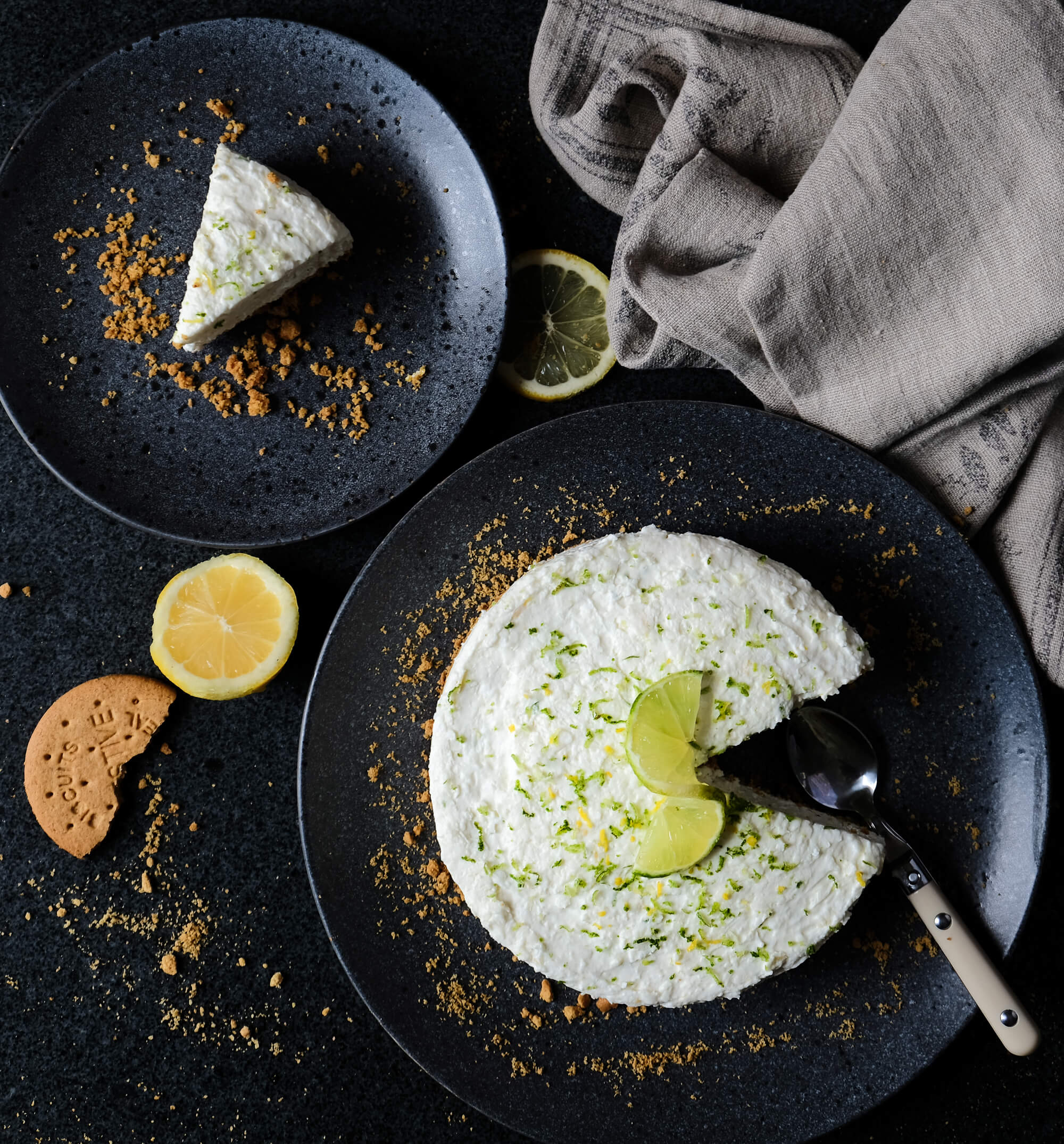 Lime and Lemon Cheesecake
