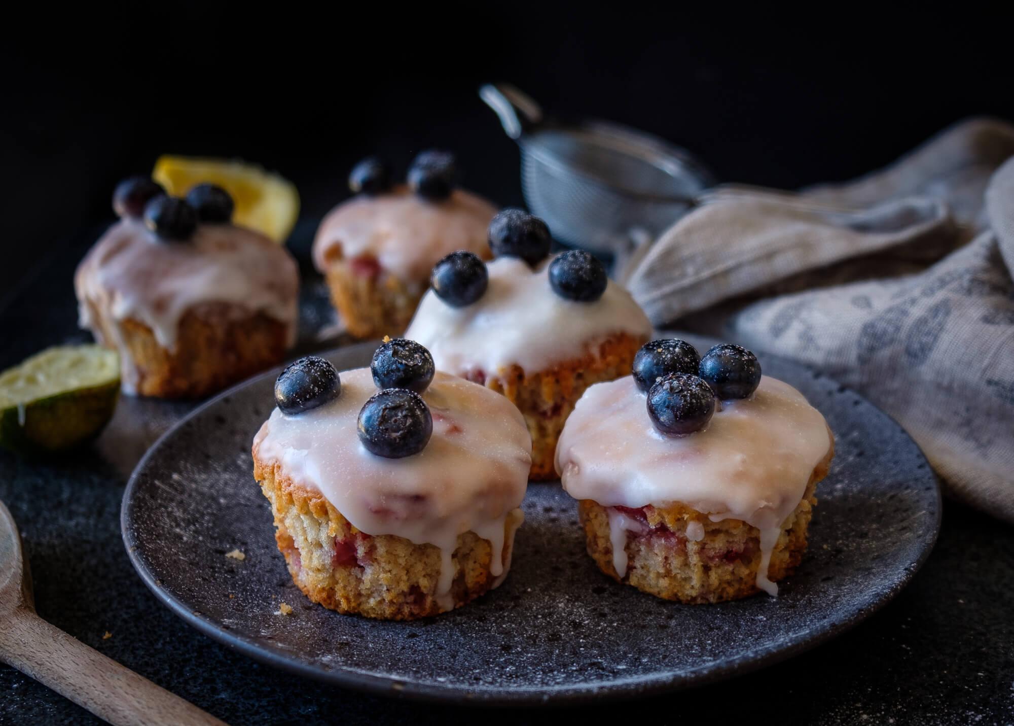Strawberry & Blueberry Muffins